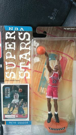 Michael Jordan NBA Superstars Collectible for Sale in Rockport, IN