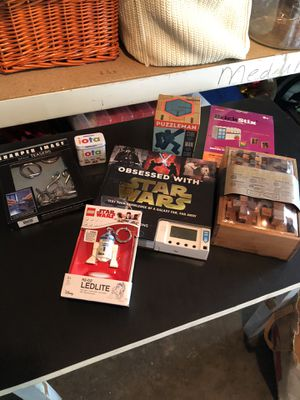 Puzzles/Brain Teasers and and Star Wars Items for Sale in Seattle, WA