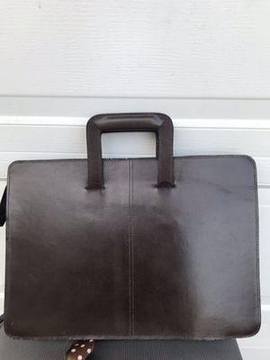 Leather portfolio/laptop bag. for Sale in Des Plaines, IL