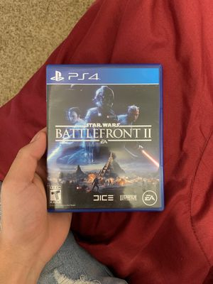 Star Wars Battlefront 2 PS4 for Sale in Rochester, MN