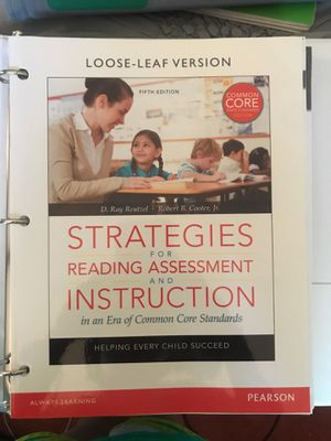 Strategies for reading assessment and instruction for Sale in Watauga, TX