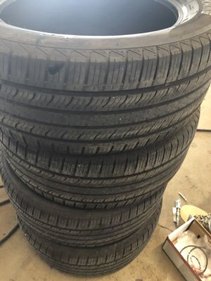 285-50-20 tires good shape cleaning out garage for Sale in Port St. Lucie, FL