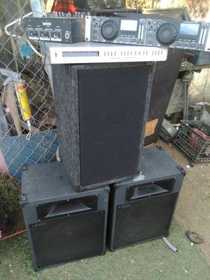 Denon Dj equipment. for Sale in LAKE MATHEWS, CA