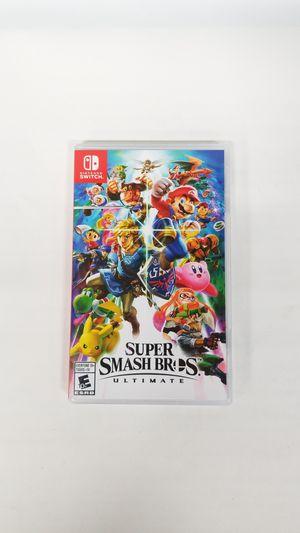 Nintendo Switch Super Smash Bros Ultimate (779709-16) for Sale in Tacoma, WA