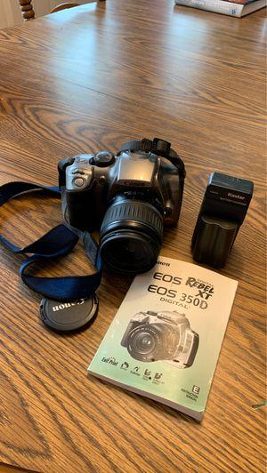 Used Canon EOS Digital Rebel XT 350 Camera for Sale in Woodstock, GA