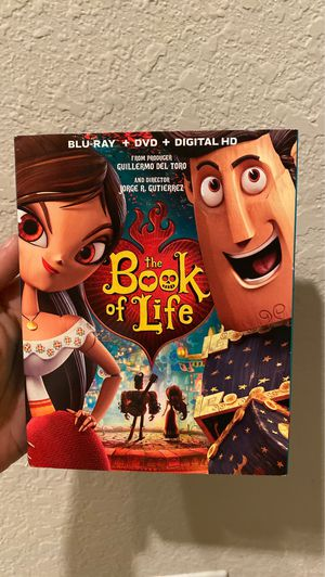 Book of Life Blu Ray and DVD for Sale in Minneola, FL
