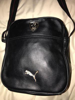 Men's Puma Ferrari Black Crossbody Messenger Bag for Sale in Winter Springs, FL