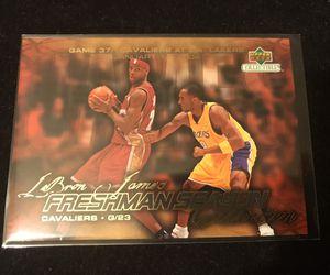 LeBron James RC vs Kobe Bryant 2003-04 Upper Deck for Sale in Ontario, CA