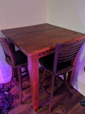 Bar Height Walnut Table for Sale in Seattle, WA