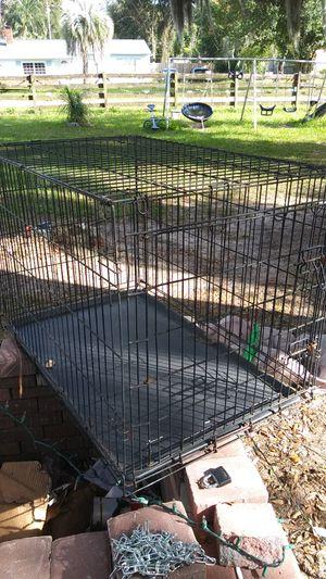 Black dog kennel for Sale in Orlando, FL