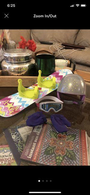 American Girl Snowboard Set for Sale in Port Charlotte, FL