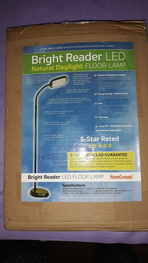 Bright Reader LED Floor Lamp Item #LED101GY for Sale in Chattanooga, TN