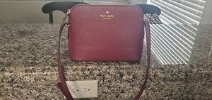 Kate spade cross body purse maroon for Sale in Pompano Beach, FL