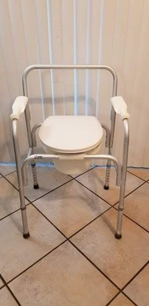 Carex Bedside Commode Chair Toilet Seat for Sale in Peoria, AZ