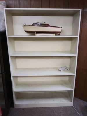 Free Solid wood bookshelf. Could be utility shelf. for Sale in Issaquah, WA
