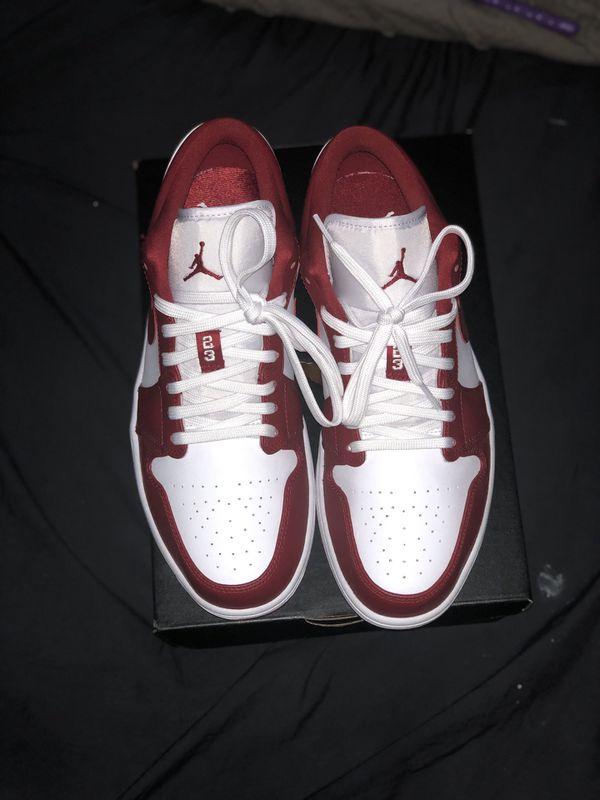 Jordan 1 Low (Gym Red)