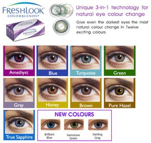 Fresh look colorblends lenses for Sale in Lombard, IL