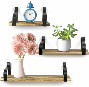 Wooden Set of 3 Wall Shelves for Sale in Dallas, TX
