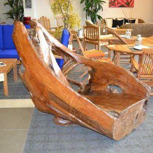 TeK root bench - outdoor furniture - patio - reclaimed wood for Sale in Windermere, FL