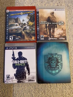 PS3 4 Game Bundle for Sale in Riverside, CA
