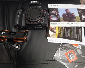 Sony SLT- A65. dslr camera pakage for Sale in Bellmore, NY