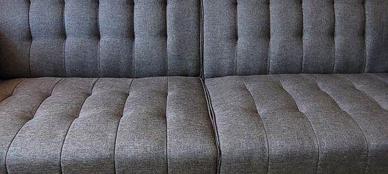 Futon Convertable NEW Ashley Furniture Grey for Sale in St. Petersburg,  FL