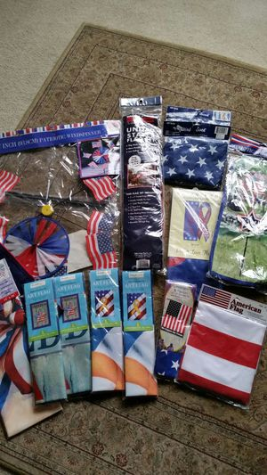 New Patriotic USA Flags Decorations for Sale in Gresham, OR