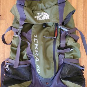 The North Face Terra 60 Backpacking bag for Sale in Los Angeles, CA