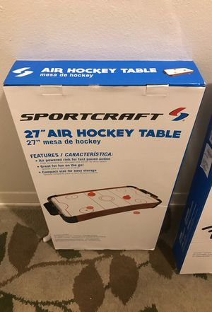 """Sportcraft 27"""" tabletop air hockey table BRAND NEW for Sale in Tampa, FL"""