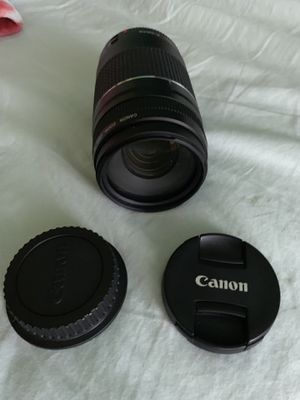 Canon 75-300mm lens for Sale in Austin, TX