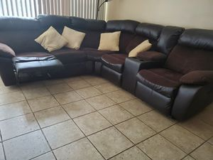 Electric sofa. Pet free smoke free home. for Sale in Malcolm, NE