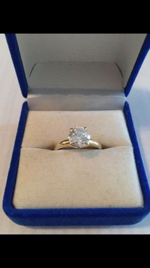 1 Carat Engagement ring 14K Gold for Sale in Houston, TX