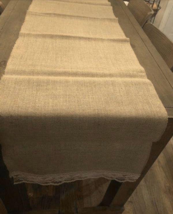 Rustic. Burlap Tablecloths