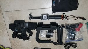Go pro hero 4 and accessories! for Sale in Las Vegas, NV