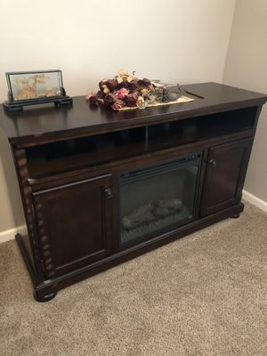 Electric Fireplace TV stand and cabinets for Sale in Tulare, CA