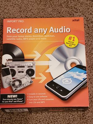 Xitel Inport Pro Record Any Audio for Sale in San Jacinto, CA