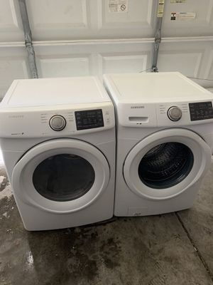 Samsung Front Load Washer and Electric Dryer for Sale in Las Vegas, NV