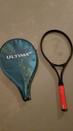 Spaulding tennis racket and cover for Sale in Edwardsville, IL