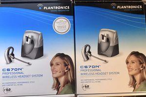 Plantronics CS70N- Headset for Sale in San Jose, CA