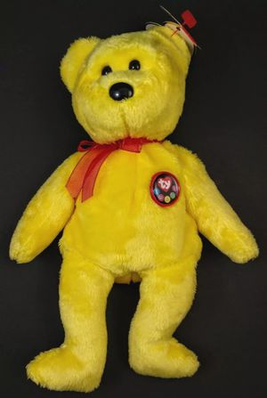 """Ty BEANIE BABY ~ TRADEE THE YELLOW """"e"""" BEAR 2000 ~ PLUSH~RETIRED for Sale in Winter Haven, FL"""