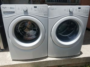 Whirlpool steam front load washer and dryer for Sale in Miami, FL