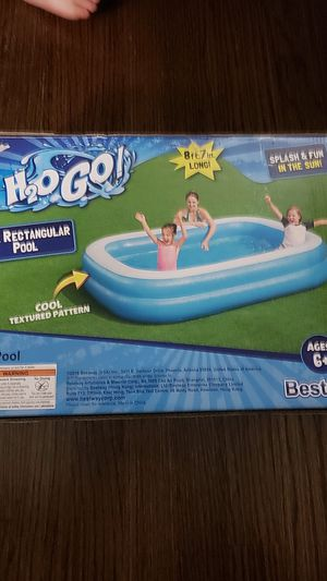 H20GO * BLUE RECTANGULAR POOL for Sale in Chicago, IL