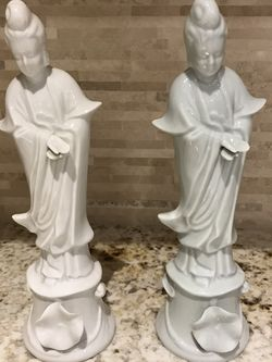 Pair Of Oriental Figurines for Sale in West Palm Beach,  FL