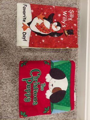 Fabric Christmas baby books for Sale in Manassas, VA