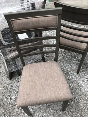 Brand new dining chairs (4) for Sale in Leavenworth, WA