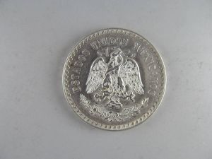 1938 Mexico Silver One Peso -- GORGEOUS UNCIRCULATED COIN! for Sale for sale  Bolingbrook, IL