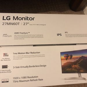 LG 27 inch monitor for Sale in Tempe, AZ