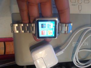 Apple ipod nano watch 6th gen , 65$ ill drop ff , 65$ te lo yevo asta donde estes for Sale in Dallas, TX
