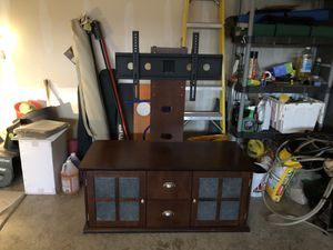 Entertainment Center w/ mounting base for Sale in Plainfield, IL