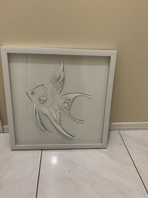 Picture frame of fish for Sale in Kissimmee, FL